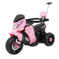 Elektrická trojkolka - motorka, tlačidlo