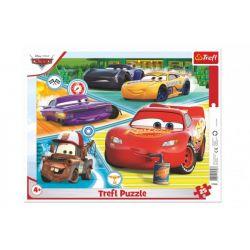 Doskové puzzle- Auta 3, 25 dielikov