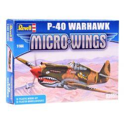 Revell Micro Wings model lietadla P-40 Warhawk
