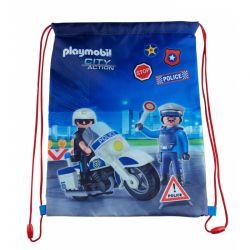 PLAYMOBIL® Police- vrecúško na prezuvky