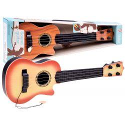 Detská gitara so 4 strunami a trsátkom, 2 farby