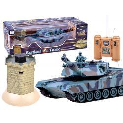 Tank na diaľkové ovládanie + bojový bunker
