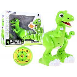 """Tancujúci dinosaurus na diaľkové ovládanie so senzorom, chrlí """"oheň"""""""