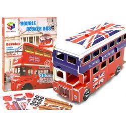 3D Puzzle – Londýnsky poschodový autobus