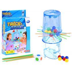 TRICK STICK: Hra Padajúce guličky