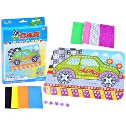 Nalepovacia mozaika – Auto