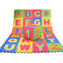 Veľké penové puzzle Abeceda a Číslice