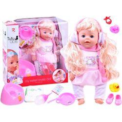 TUTU love panenka s 9 funkcemi, pije, jí, čůrá ... + příslušenství