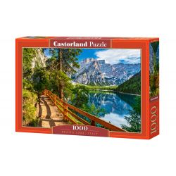 Castorland Puzzle Jazero Braies IT, 1000 dielov