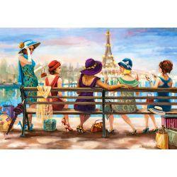 Castorland Puzzle Dámy v Paríži, 1000 dielov