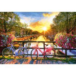 Castorland Puzzle Bicykle v Amsterodamu 1000 ks
