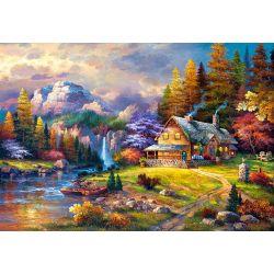 Castorland Puzzle Úkryt v horách, 1500 d.