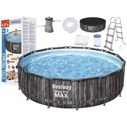 BESTWAY Bazén 427x107cm  Steel Pro Max