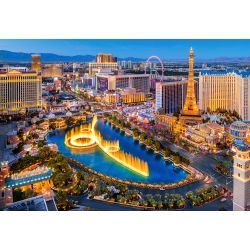 Castorland Puzzle Úžasné Las Vegas 1500 dielikov
