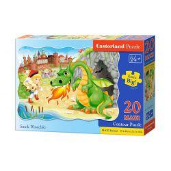 Castorland MAXI 20 Puzzle Wawelský drak