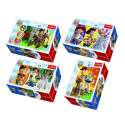 Minipuzzle Toy Story 4, 4v1