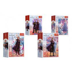 Minipuzzle Frozen II, 4v1