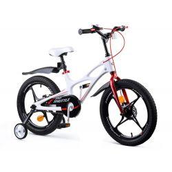 RoyalBaby detský bicykel SPACE SHUTTLE  biely
