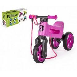 Funny Wheels odrážadlo Super Sport 2v1 fialove