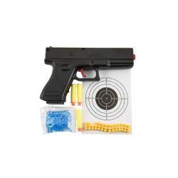 Pištole guličková 20cm + náboje