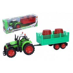 Traktor s vlečkou 35cm na setrvačník