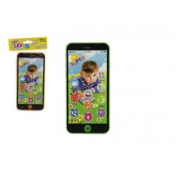 Telefon Mobil 7x14cm so zvukom