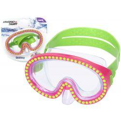 Bestway 22062 potápačské okuliare Sparkle´N Shine UV filter, 7+, Ružové