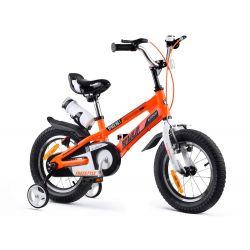 """RoyalBaby Detský bicykel Freestyle SPACE, 14"""" oranžové"""