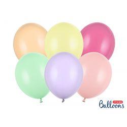 Pastelové farebné balóny- 30cm