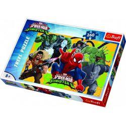 Puzzle Spiderman vs Sinister 6 - 260 dielov