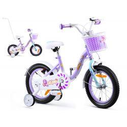 """RoyalBaby Detský bicykel Chipmunk MM, 14"""", Fialovy"""
