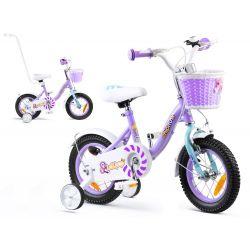 """RoyalBaby Detský bicykel Chipmunk MM, 12"""", Fialovy"""