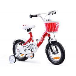 """RoyalBaby Detský bicykel Chipmunk MM, 12"""", Červený"""