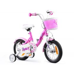 "RoyalBaby Detský bicykel Chipmunk MM, 12"", Ružový"