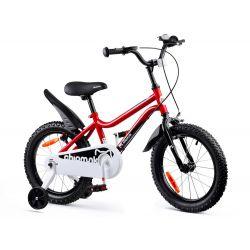 """RoyalBaby Detský bicykel Chipmunk MK, 16"""", Červený"""