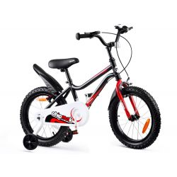 "RoyalBaby Detský bicykel Chipmunk MK, 16"",Čierny"