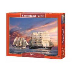 Castorland Puzzle Plavba pri západe slnka, 500 dielov