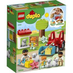 Lego Duplo Traktor a zvieratka z farmy