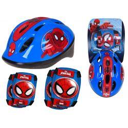 Detská prilba a chrániče Spiderman