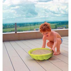 Smoby Pieskovisko mušľa Mini Sand Pit zelené 35 cm