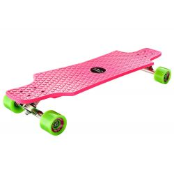 HUDORA Longboard CruizeStar ružový