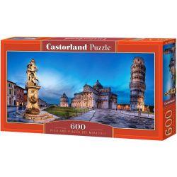 Castorland Puzzle Pisa a Piazza dei Miracoli, 600 dielikov