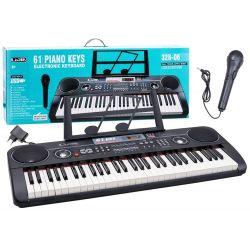 Veľké piano + mikrofón