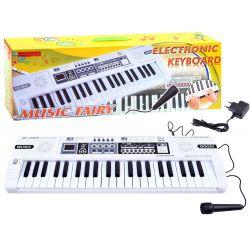 Mini klávesnica s mikrofónom