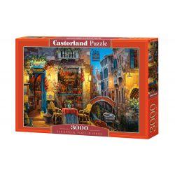 Castorland Puzzle Kútik v Benátkach, 3000 dielov