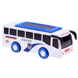 Policajný autobus so zvukom a svetlom