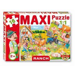 Maxi puzzle 16 dielov, ranč