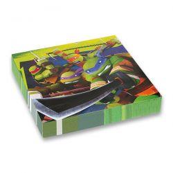 Papierové servítky Ninja korytnačky, 16 ks