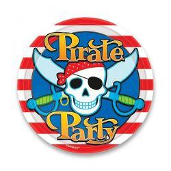 Papierové taniere Pirate Party