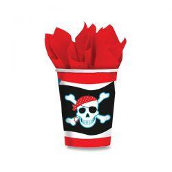 Papierové poháre Pirate Party